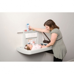Folding Baby Changing Station Horizontal Model