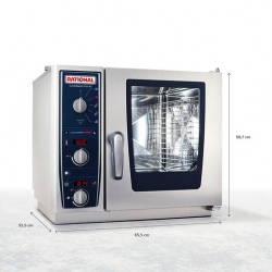 Rational CombiMaster Plus XS Model 6x2/3GN Elec