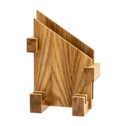 Craster Menu Card Holder Wood