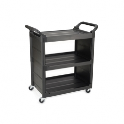Rubbermaid Utility Cart Black