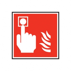 Mileta Fire Call Point Sign