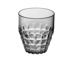 Guzzini Tiffany Low Tumbler 350ml Matt Grey