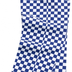 Brigade Chef Clothing Brigade Chef Trousers Large Blue/White Check