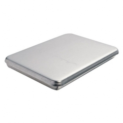Baking Pan With Lid Aluminium 26.7x20.6x3.2cm