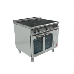 Falcon Four Zone Induction 1/1 Oven Range