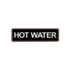 Bravilor Hot Water Sticker