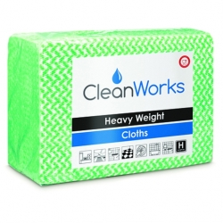 Heavy Weight Hygiene Cloth Green 80gsm (25 pcs)