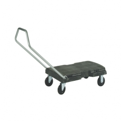 Rubbermaid Triple Platform Trolley Polyethylene