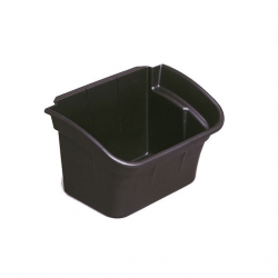 Black Utility Bin 15l (Sold Singly)