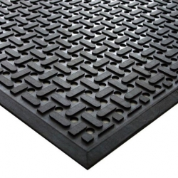 Coba Kitchen Mat Black 0.85 x 1.4m