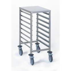 Tournus Equipement Gastronorm Storage Trolley - 8 Tier 1/1GN