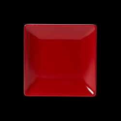 Elite Karma Black & Red Two-Tone Rectangle Plate 33cm