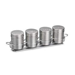 4 Shaker Countertop Set S/S (Sold Singly)