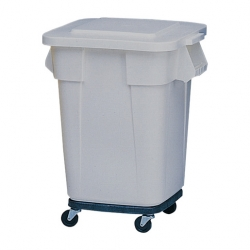 Brute Square Containers Grey151.4ltr (Sold Singly)