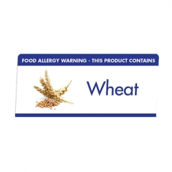 Allergen Buffet Notice Wheat (Sold Singly)