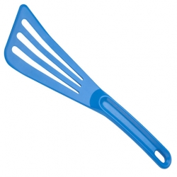12 inch x 3 1/2 inch Slotted Spatula Blue