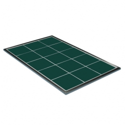 Hot Tile Ceramic Green 1/1 Size Gastronorm