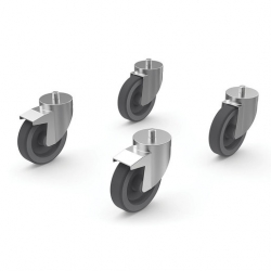 Set Of 4 Castors For Any Lainox Combi Oven Stand