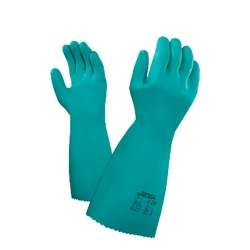 Ansell Green Size 11 Gauntlet Glove (Pair)