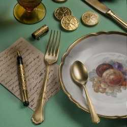 Pintinox Settecento Alchemy Gold Table Spoon
