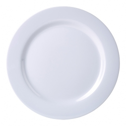 Genware Melamine Plate 9 Inch (12 pcs)