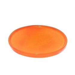 Colourful Terracotta 37cm Platter Tangerine (4 pcs)