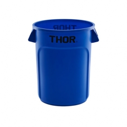 Round All Purpose Bin 121L Blue