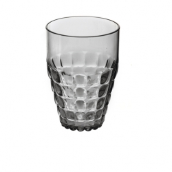 Guzzini Tiffany Tall Tumbler 510ml Matt Grey