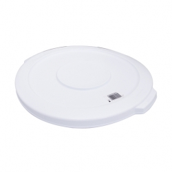 Rubbermaid Bin Lid Polyethylene White