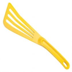 12 inch x 3 1/2 inch Slotted Spatula Yellow
