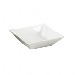 Pillivuyt Quartet Bowl Square White 11 x 11cm