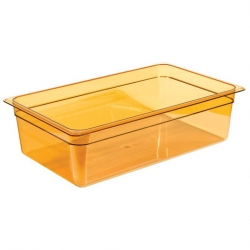Cambro Gastronorm Container High Heat 1/1 150mm Amber