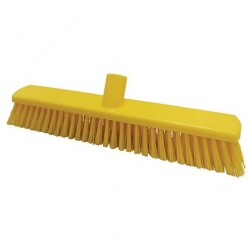 380mm Floor Brush Stiff Yellow (Sold Singly)