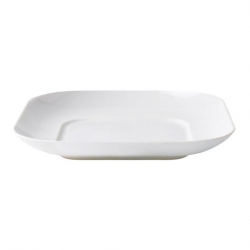 Royal Doulton Loop Coupe Bowl Square White 25 X 25cm