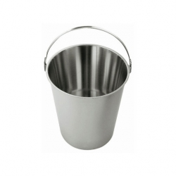 Bucket Stainless Steel 9ltr