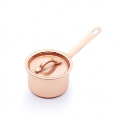 Artesa Mini Saucepan 6cm - Copper Finish (6 pcs)