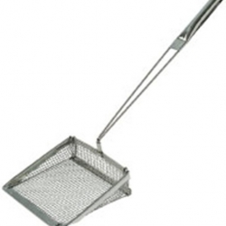 Chip Shovel Coarse Mesh Stainless Steel (Sold Singly)
