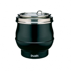 Dualit 70012 11 Ltr Wet & Dry Soup Kettle - Black (Sold Singly)