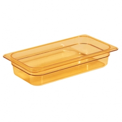 Gastronorm Container High Heat 1/3 100mm Amber (Sold Singly)