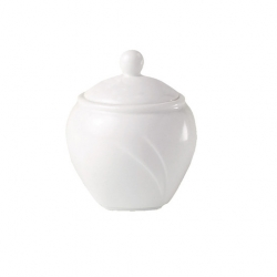 Alvo Sugar Bowl Covered White (6 pcs)