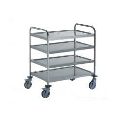EAIS Service Trolley 4 Tier Medium