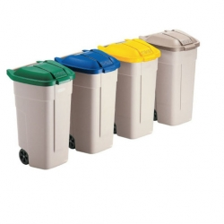 Rubbermaid Wheelie Bin Lid Blue