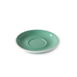 Acme and Co Acme Green 155mm Circular Latte Saucer