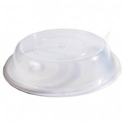 Plate Cover Clear Polypropylene Round 29cm