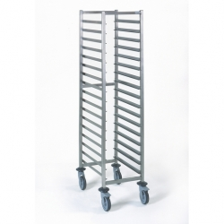 Tournus Equipement Gastronorm Storage Trolley - 17 Tier 1/1GN