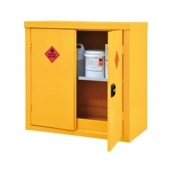 Hazardous Storage Cupboard 2 Door & 1 Shelf