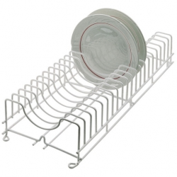 Plate Rack Plastic Coated Wire Holds 20 Plates (Sold Singly)
