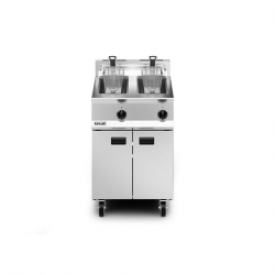 Lincat Opus 800 60cm Twin Tank Natural Gas Fryer