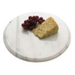 Cheese Board Grey Marble Round 30cm (Sold Singly)