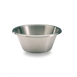 Mixing Bowl Flat Bottomed S/S 3.9ltr 24cm (Sold Singly)